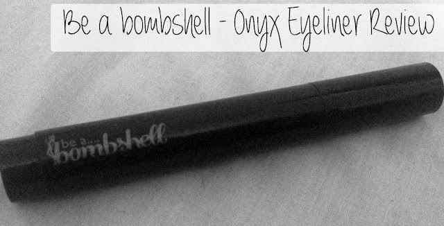 Be a bombshell Onyx Eyeliner