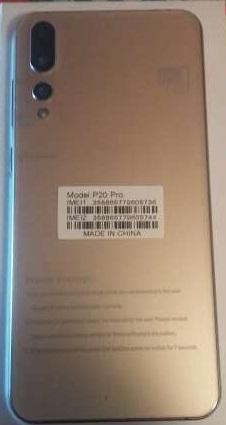 Huawei Clone Welcome P20 Pro Flash File MT6580 2ND Update