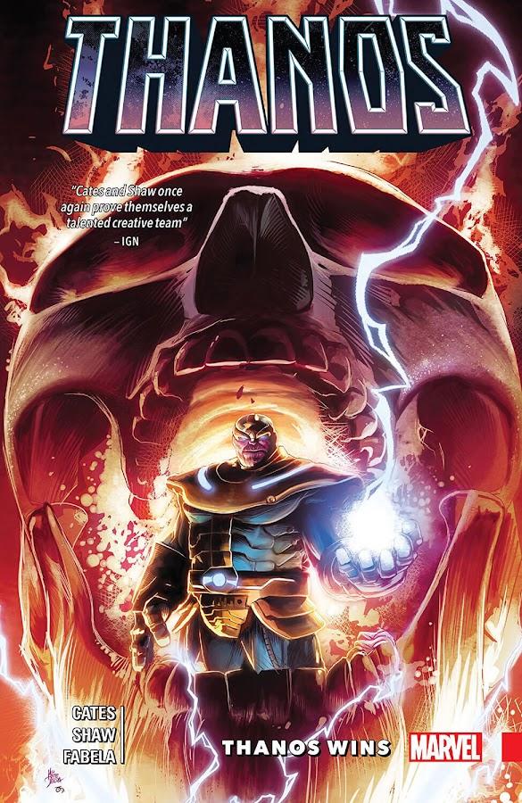 thanos wins marvel comics