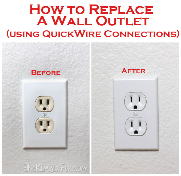how to connect receptackle with wall switch