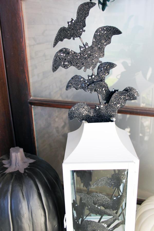 Halloween Bats In Lantern
