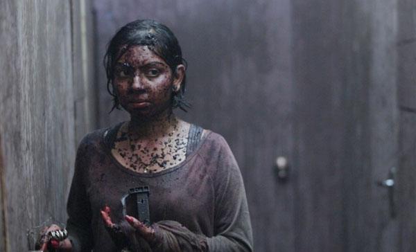 Jaya Ganason plays the deaf-mute protagonist in THE FARM: EN VEETTU THOTTATHIL (2017)