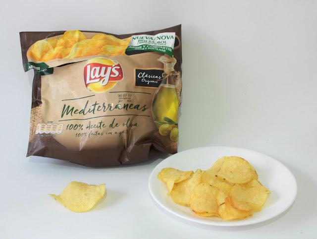 patatas lay's Mediterráneas