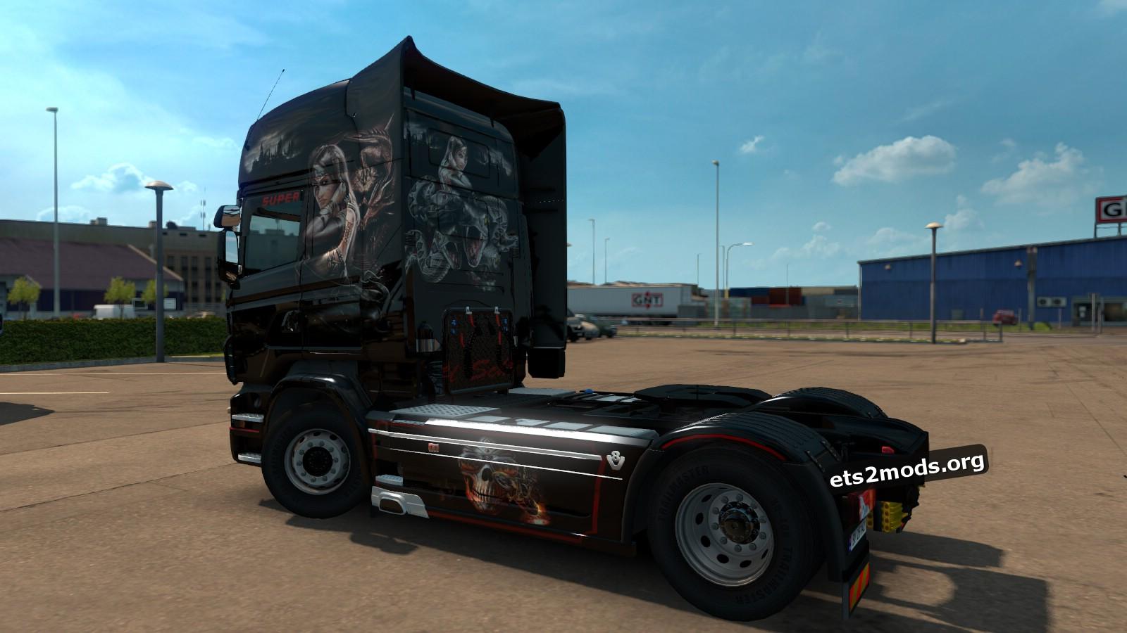 Scania RJL Soul Chaser Skin