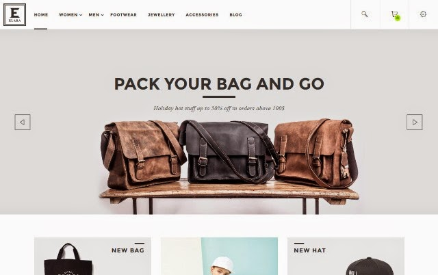 Elara - Responsive Magento Fashion Theme