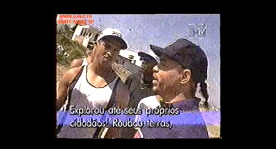 Video - Entrevista com Mano Brown e Ice T no Capão Redondo