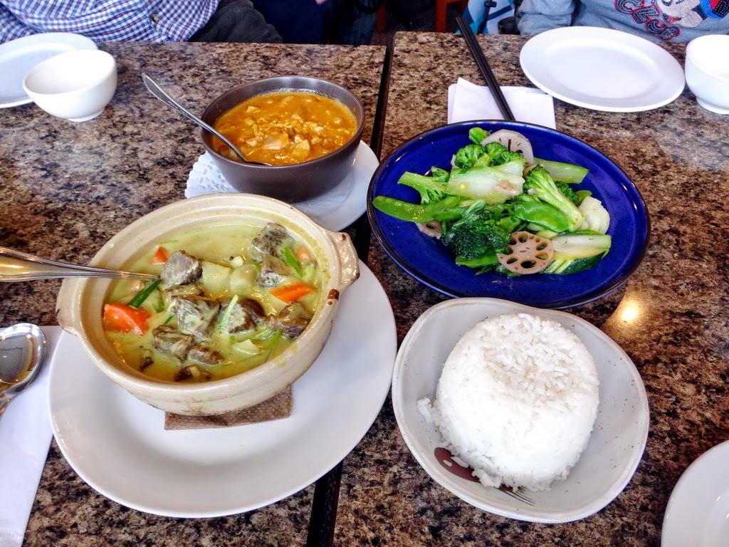 Sunny 飲飲食食: Bamboo Garden (班夫鎮的泰國Fusion菜餐廳)