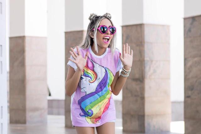 Resultado de imagen para Blusas de unicornio tumblr