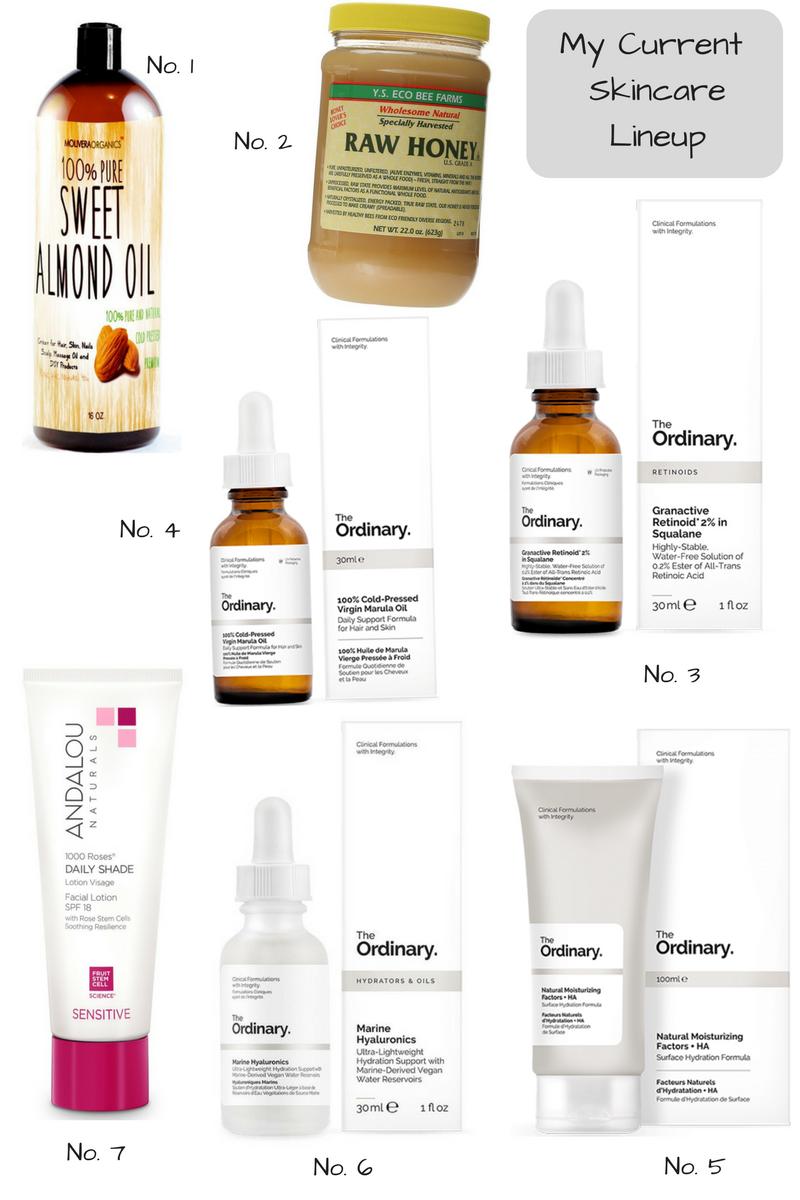 My Minimalist Skin Care Lineup
