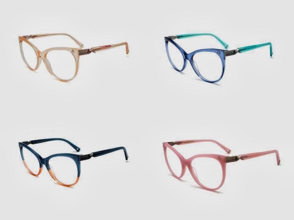 """Absurda lança óculos de grau feminino no estilo """"maxi-gatinho"""" com  inspiração romântica e cores vintage. b48f6c751a"""