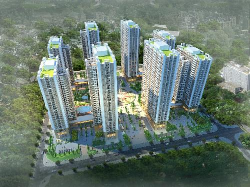 Phối cảnh chung cư An Bình City khu đô thị Thành phố giao lưu