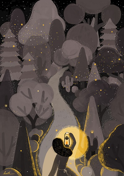 """Light will guides you home"" por Kathrin Honesta 
