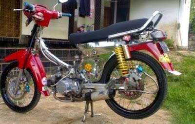 Modifikasi Motor Honda Astrea Grand Keren Terbaru