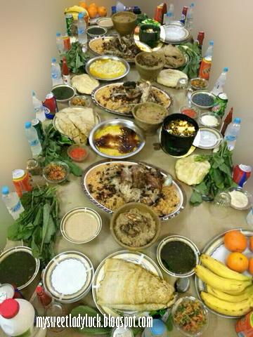 hidangan arabian