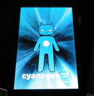 CyanogenMod9のブートローディング