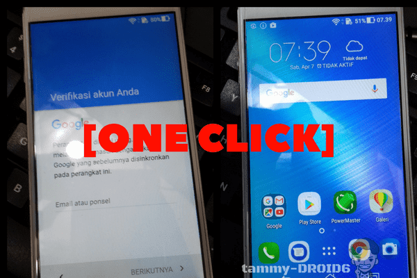 [ONECLICK] Bypass FRP Asus Zenfone X008DA with MRT Dongle