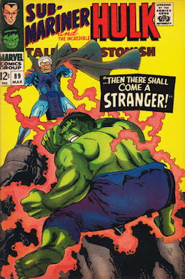 Tales to Astonish #89, Hulk vs the Stranger