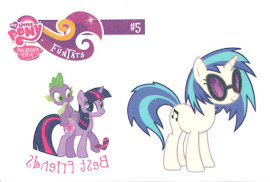 My Little Pony Tattoo Card 5 Series 2 Trading Card