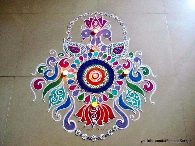 indian rangoli