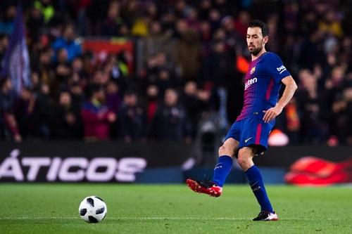 Busquets trở thành cầu thủ vô cùng quan trọng đối với Barca