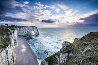 Etretat, Normandie / Frankreich