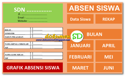 Download Aplikasi Absensi Siswa Format Excel Gratis 2017