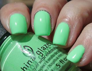 China Glaze Lite Brites Lime After Lime