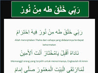 Teks Albanjari: Sholawat Robbi Kholaq Thoha Min Nur dan Artinya