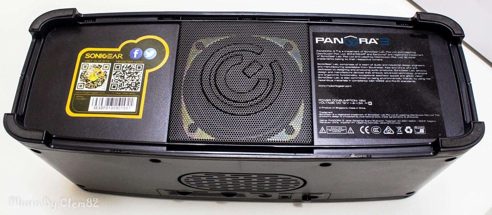 Opening Pandora's Box: SonicGear Pandora Wireless Bluetooth Media Player Series 30
