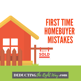 Buying your first home | www.deductingtherightway.com
