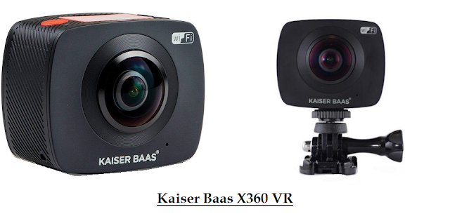 Kaiser Baas X360 VR - cheap 360- degree action camera
