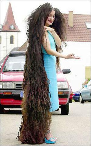 teen fashion long hair