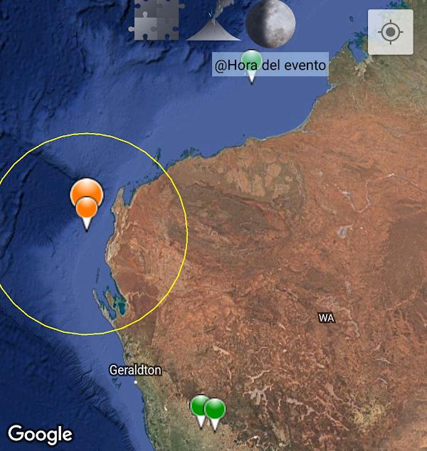 URGENTE: sismo atipico y fuerte sacude Australia.