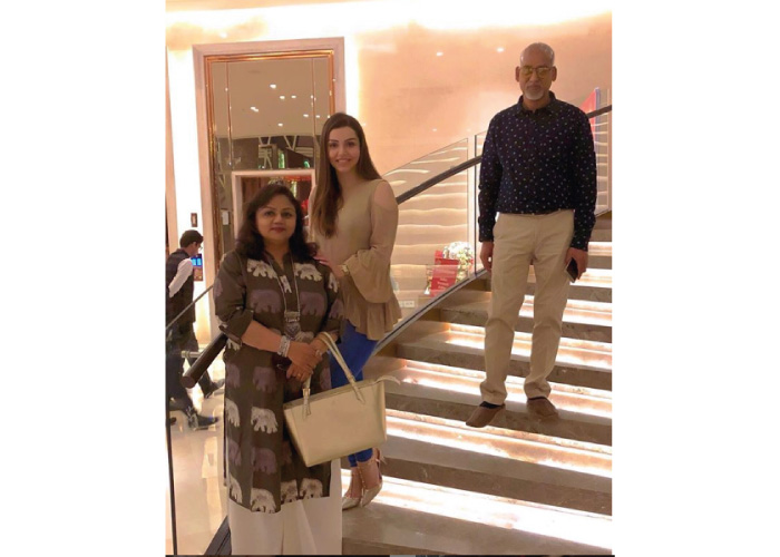 Kyra Dutt Family