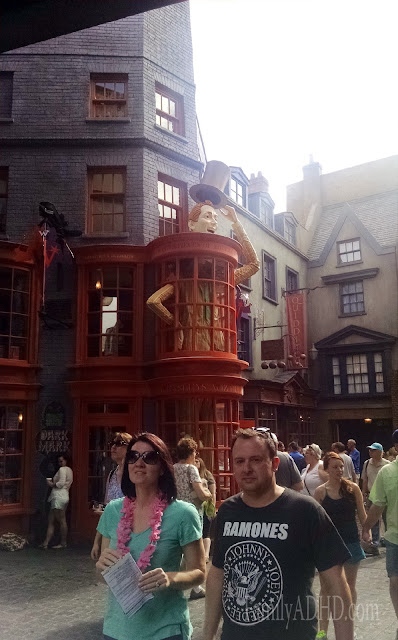 Weasleys Wizard Wheezes Diagon Alley Wizarding World of Harry Potter Orlando Tips & Review Family Travel 2015