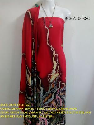 BCE AT0038C: BATIK CREPE EXCLUSIVE