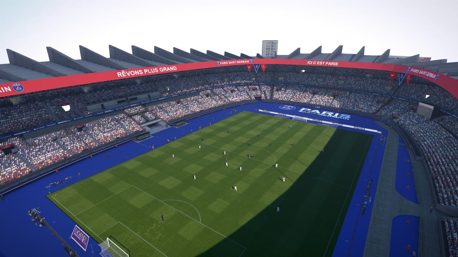 Pes modif pes 2016 stadium parc de princes paris saint for Porte 0 parc des princes