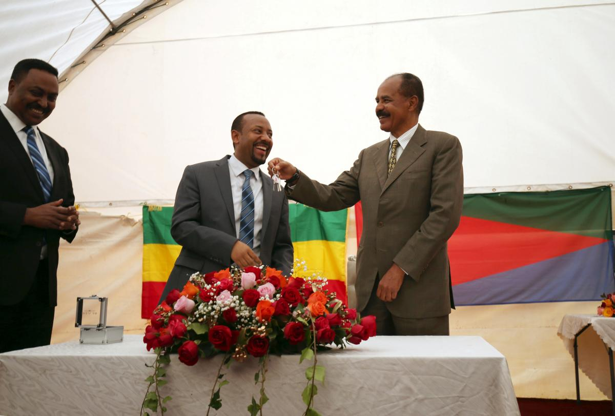 <In peace between Ethiopia and Eritrea, UAE lends a helping hand