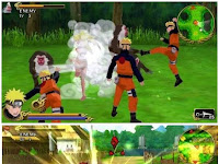 Download game PSSPP : Naruto Shippuden Legends Akatsuki Rising Mod Offline Android