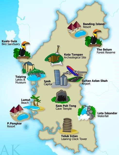 Senarai Lokasi Menarik Di Perak