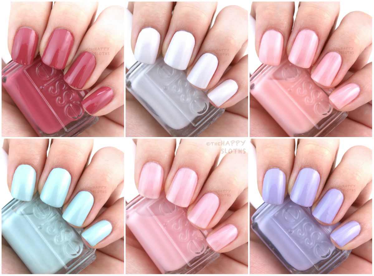 Essie Bridal 2016 Collection: Review and Swatches | The Happy Sloths ...
