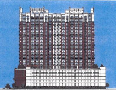 Unbuilt: Ashby High Rise (rendering from litigation file)