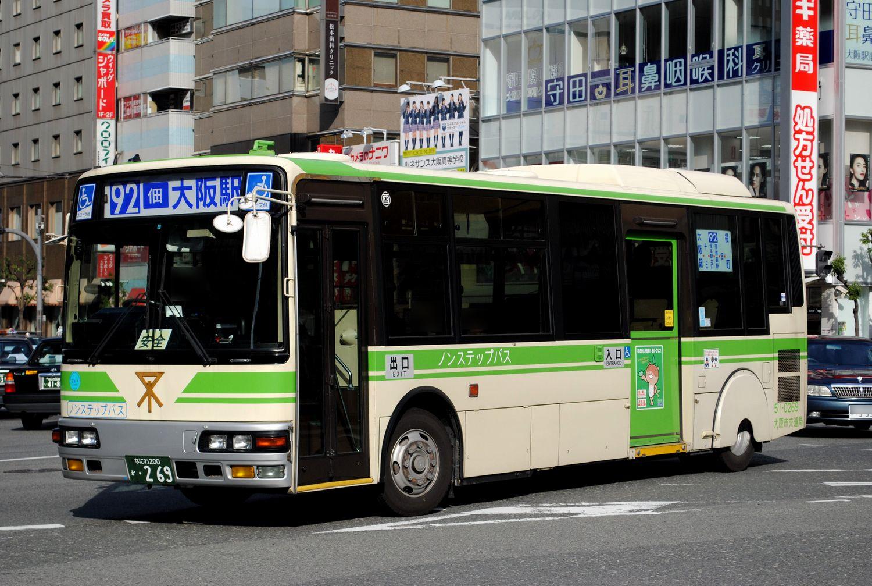 大阪シティバス 中型車