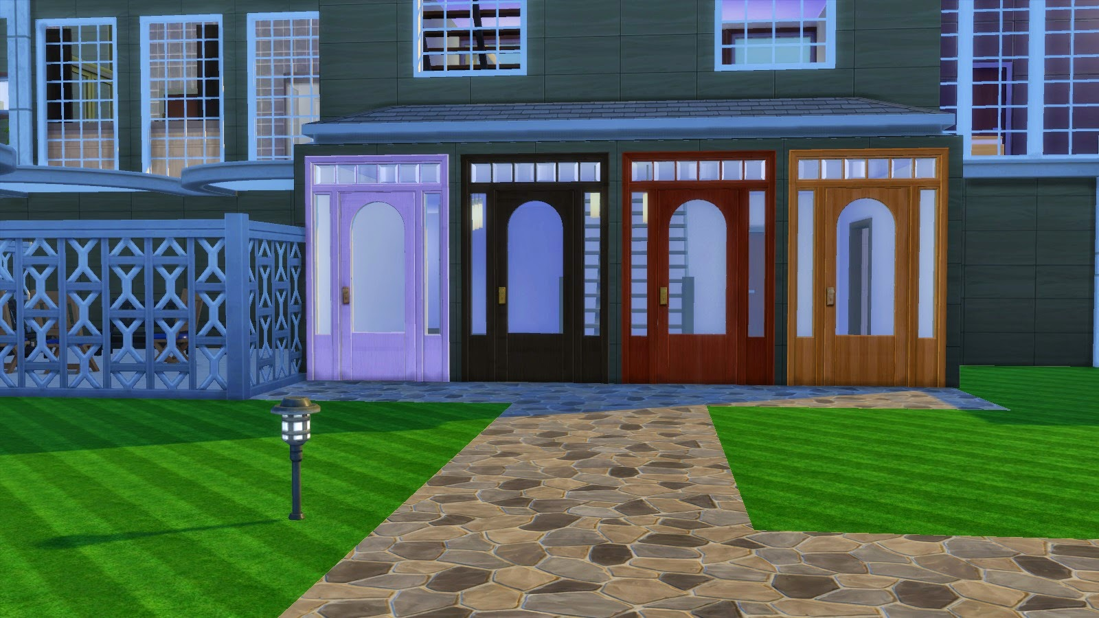 My Sims 4 Blog Colonial Door By Adonispluto