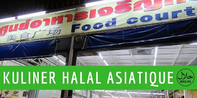 Makanan kuliner Halal murah enak Thai Food Di Asiatique