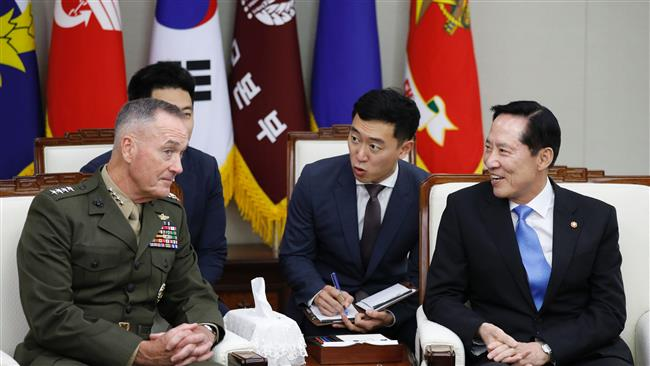 American military ready to use 'full range' of capabilities against North Korea: US Chairman of the Joint Chiefs of Staff General Joseph Dunford