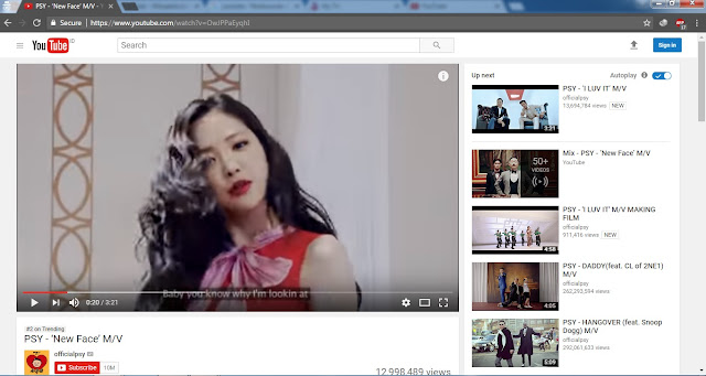 Buka Video yang Anda Ingin Download