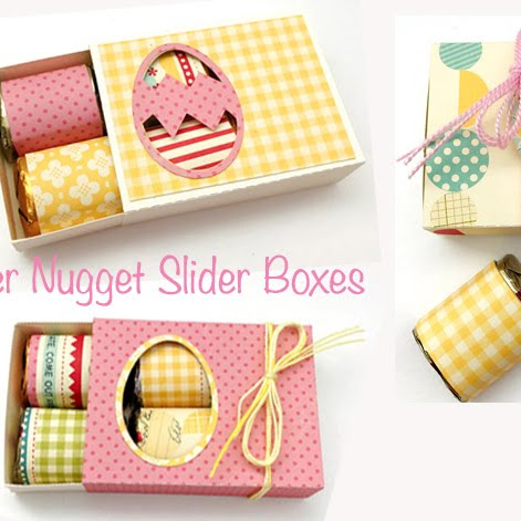 Easter Hershey Nugget Slider Box