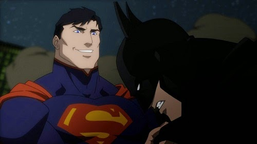 Batman v Superman Justice League War DC Universe Animated Original Movie 2014