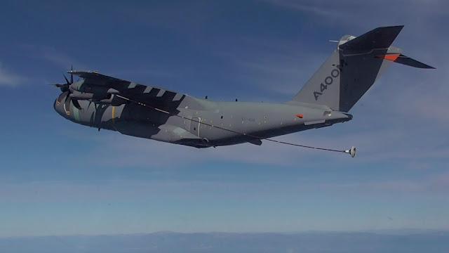 Airbus y el Ejército del Aire colaboran para mejorar el reabastecimiento en vuelo del A400M